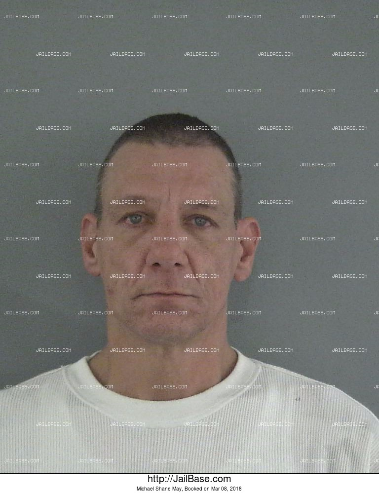 MICHAEL SHANE MAY mugshot picture