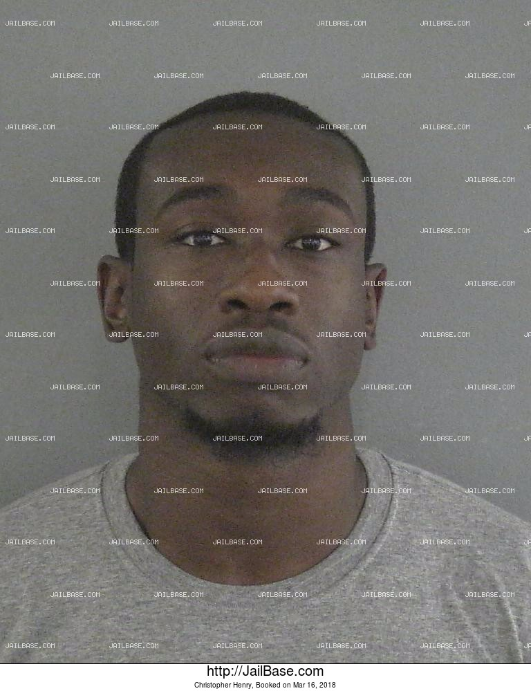 CHRISTOPHER HENRY mugshot picture
