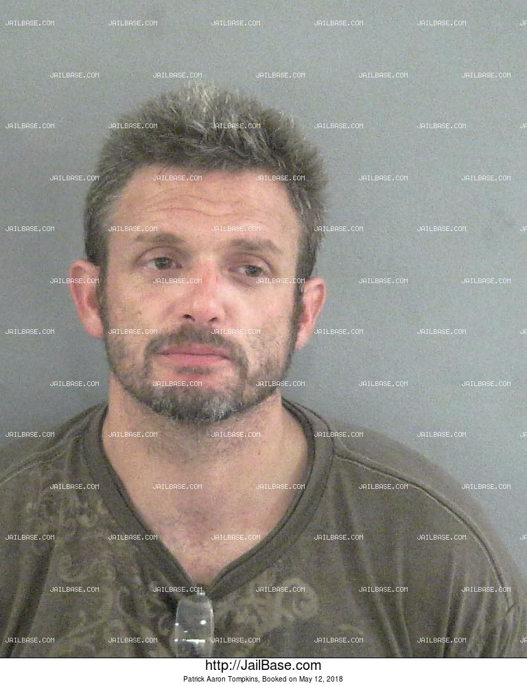 PATRICK AARON TOMPKINS mugshot picture