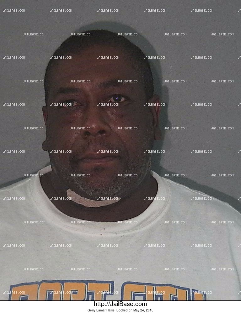 GERRY LAMAR HARRIS mugshot picture