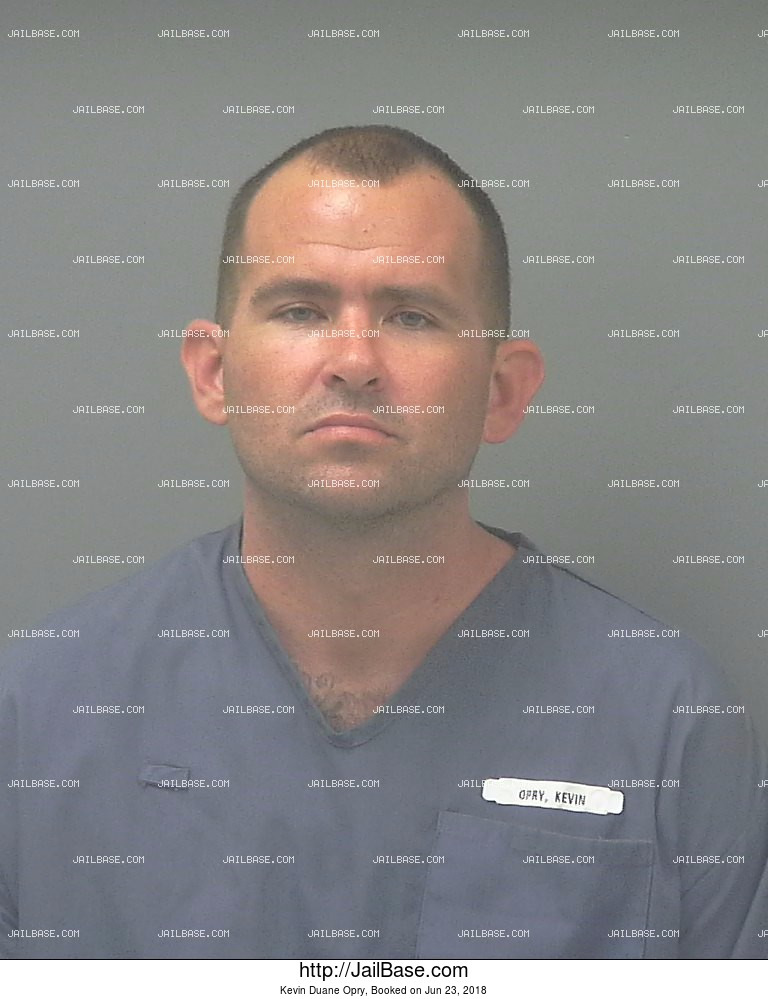 KEVIN DUANE OPRY mugshot picture