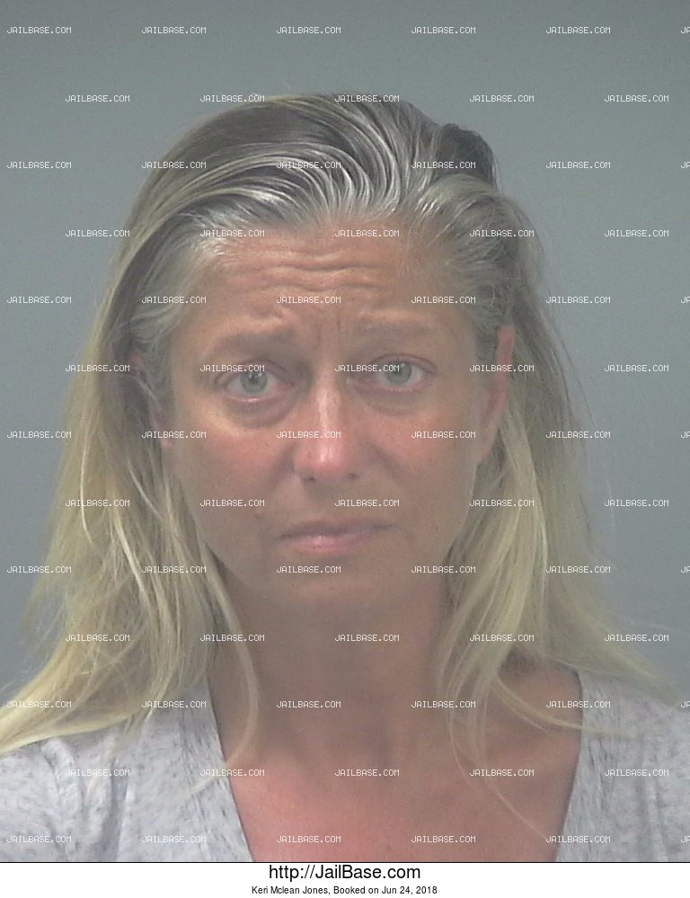 KERI MCLEAN JONES mugshot picture