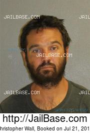 Christopher Wall mugshot picture