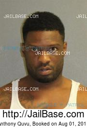 Anthony Quvu mugshot picture