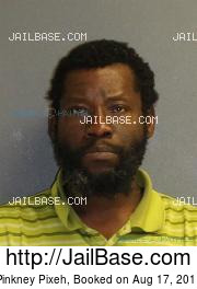 Pinkney Pixeh mugshot picture