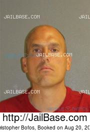 Christopher Bofos mugshot picture