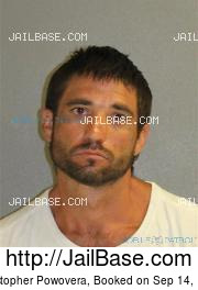 Christopher Powovera mugshot picture
