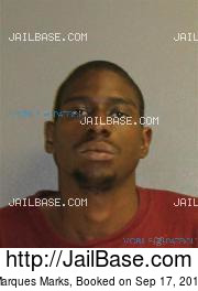 Marques Marks mugshot picture