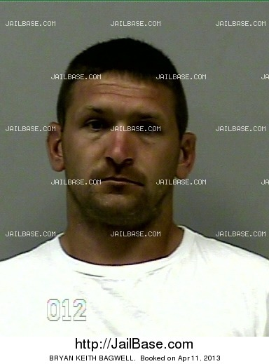 BRYAN KEITH BAGWELL mugshot picture