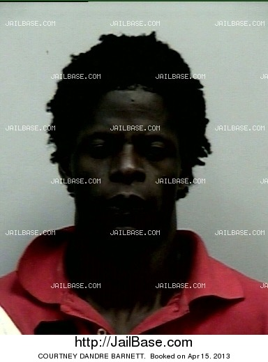 COURTNEY DANDRE BARNETT mugshot picture