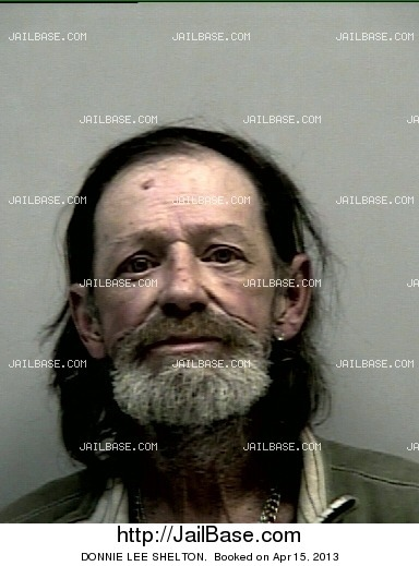 DONNIE LEE SHELTON mugshot picture