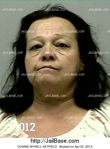 CONNIE WYNELL HATFIELD mugshot picture