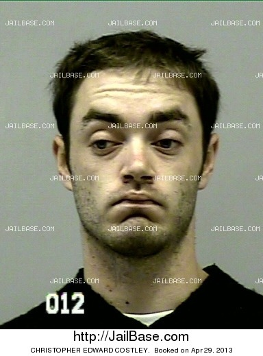 CHRISTOPHER EDWARD COSTLEY mugshot picture