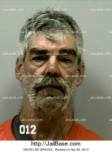 DAVID LEE GRAVES mugshot picture
