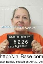 Nickey Berger mugshot picture