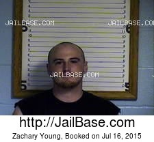 Zachary Young mugshot picture