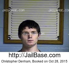 Christopher Denham mugshot picture