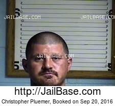 Christopher Pluemer mugshot picture