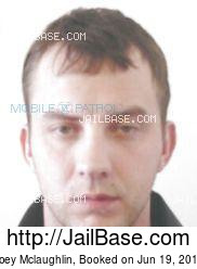 Joey Mclaughlin mugshot picture