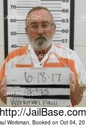 Paul Workman mugshot picture