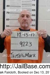Mark Faircloth mugshot picture
