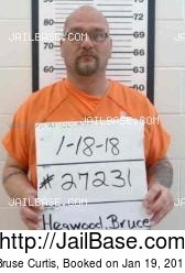 Bruse Curtis mugshot picture