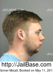 Tanner Mccall mugshot picture