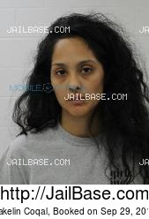 Yakelin Coqal mugshot picture