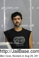 Dillon Cook mugshot picture