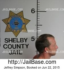 Jeffrey Simpson mugshot picture