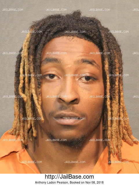 ANTHONY LADON PEARSON mugshot picture