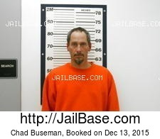 Chad Buseman mugshot picture