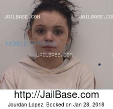 Jourdan Lopez mugshot picture