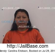 Glendy- Carolina Erickson mugshot picture