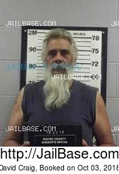 David Craig mugshot picture