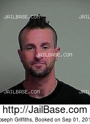 Joseph Griffiths mugshot picture