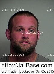 Tyson Taylor mugshot picture