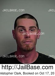 Christopher Clark mugshot picture
