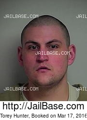 Torey Hunter mugshot picture