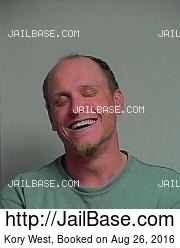 Kory West mugshot picture