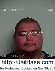 Mike Rodriguez mugshot picture