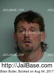 Brian Butler mugshot picture