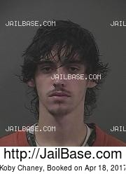 Koby Chaney mugshot picture