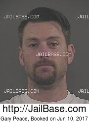 Gary Peace mugshot picture