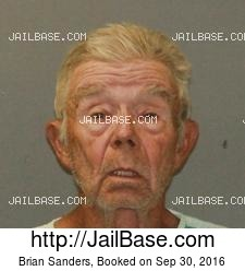 Brian Sanders mugshot picture