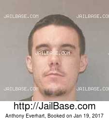 Anthony Everhart mugshot picture