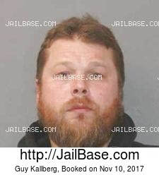 Guy Kallberg mugshot picture