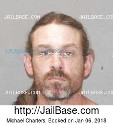 Michael Charters mugshot picture