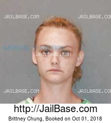 Brittney Chung mugshot picture