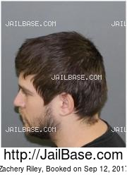 Zachery Riley mugshot picture